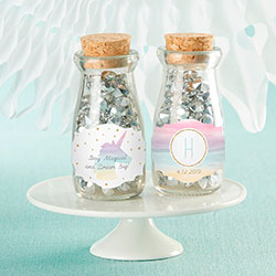 Personalized Milk Jar - Enchanted Party (Set of 12)