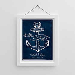 Personalized Poster (18x24) - Nautical